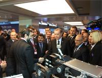 President Erdogan visited the Hema Stand