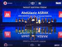 Türkiye İnovasyon Haftası'nda Inosuit Projesi Sertifika Töreni